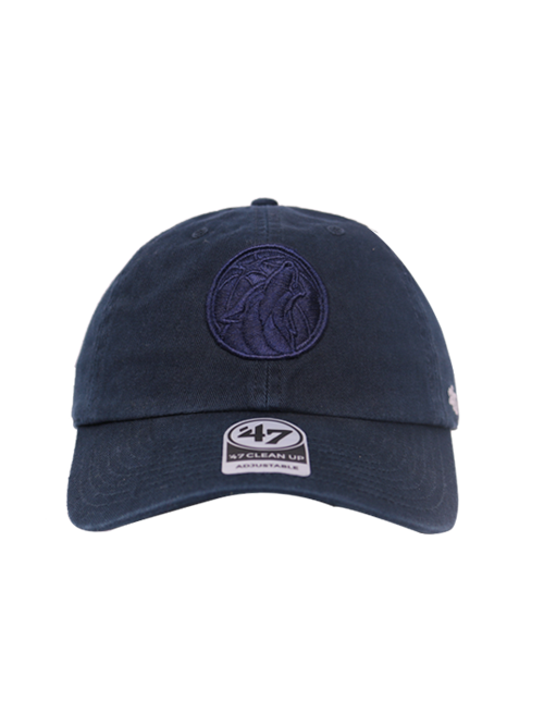 Minnesota Timberwolves Navy Primary Clean Up Hat - Timberwolves Team Store