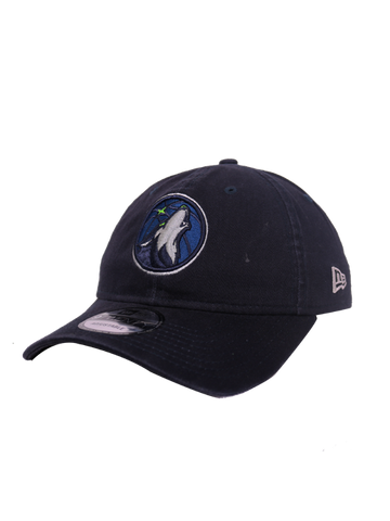 Minnesota Timberwolves Navy Primary Icon Dad Hat