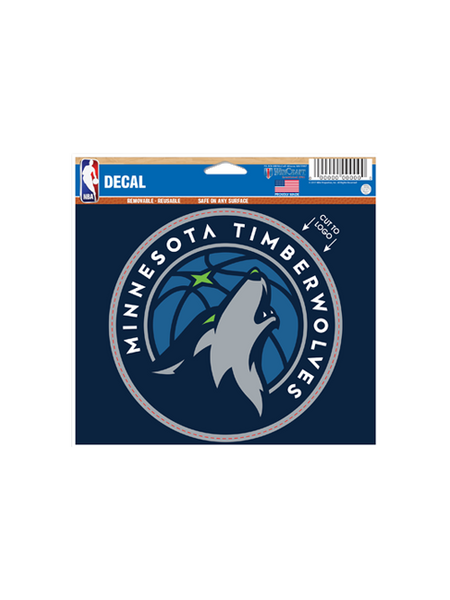 Minnesota Timberwolves Logo Decal 5x6