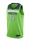 Minnesota Timberwolves Youth Karl-Anthony Towns Statement Swingman Jersey