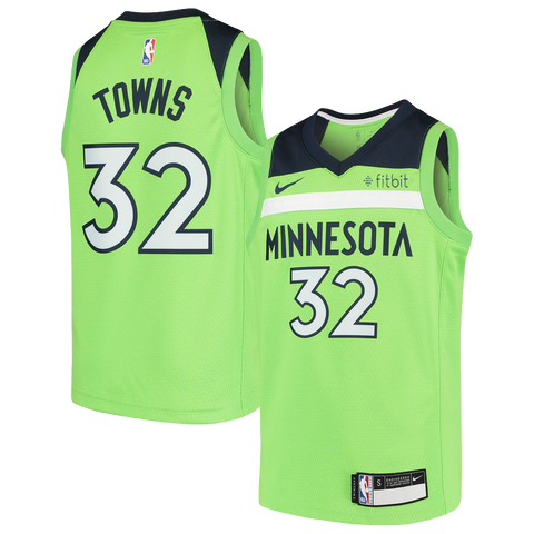 Minnesota Timberwolves Josh Okogie Icon Authentic Jersey