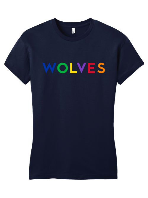 purchase cheap a8ba3 ca3b5 Minnesota Timberwolves Women's Pride T-shirt