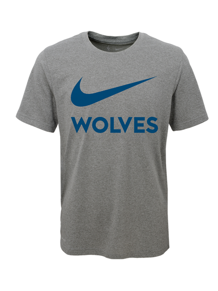 Minnesota Timberwolves Youth Nike Swoosh Team T-Shirt