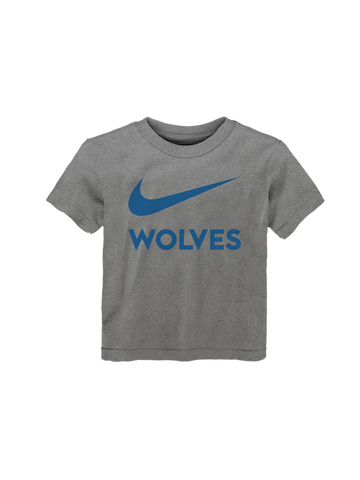 Minnesota Timberwolves Youth Girls Baby Jersey V-Neck Stripes T-Shirt