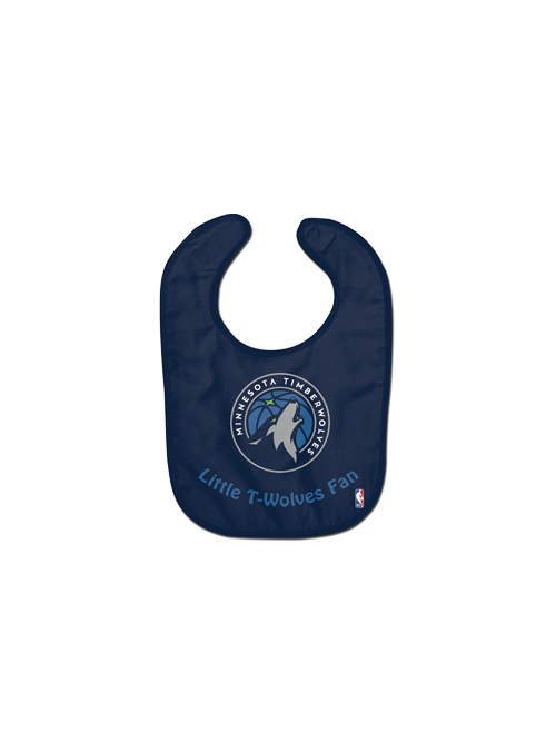 the latest 6d117 db853 Minnesota Timberwolves Baby Bib
