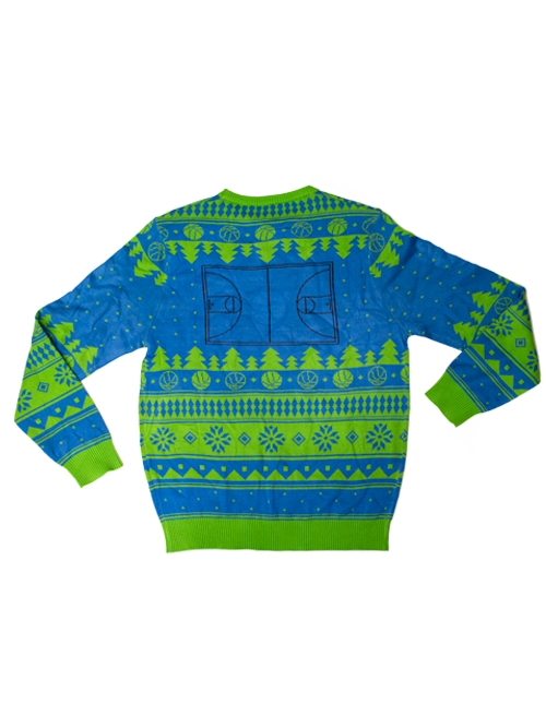 Minnesota Timberwolves Ugly Christmas Knit Sweater