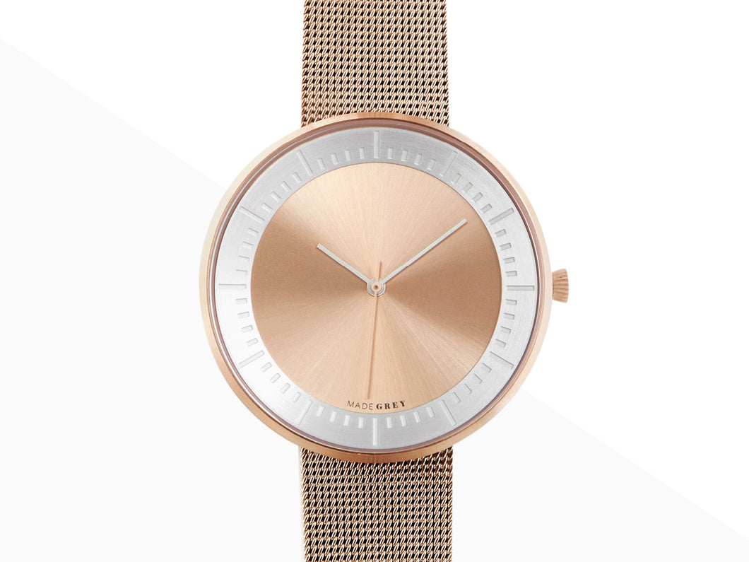 ROSE GOLD x SILVER MG003 MAX | MESH