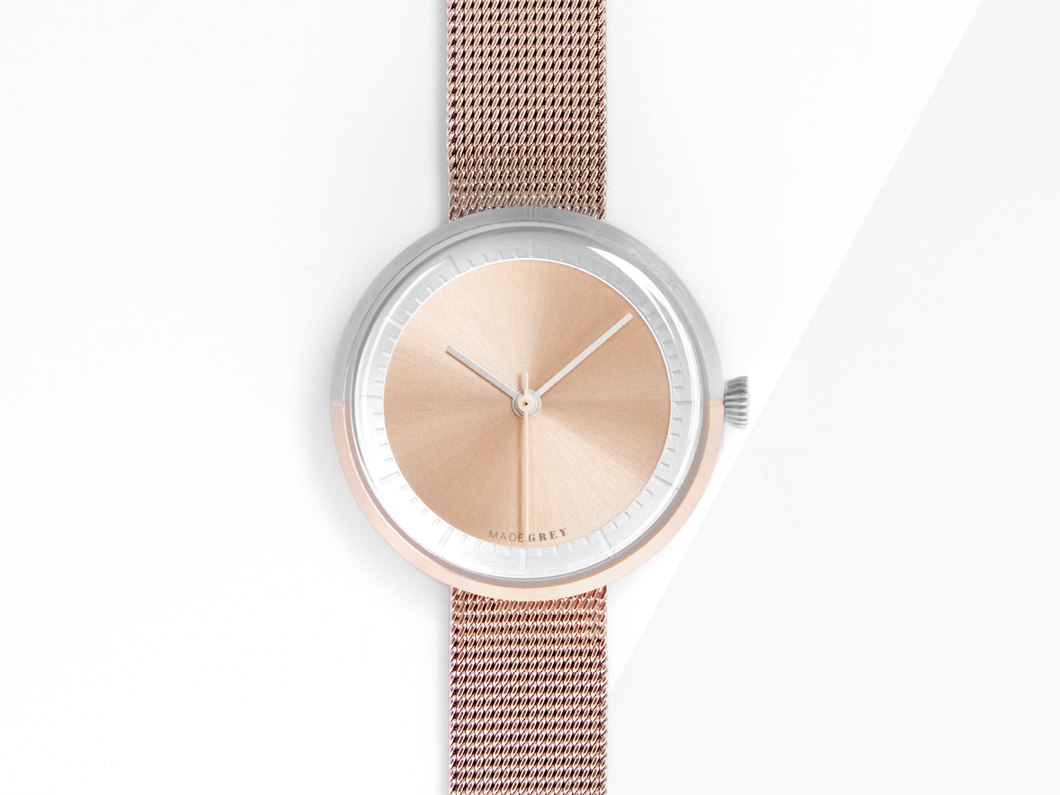 NEW! ROSE GOLD x SILVER MG003 MINI | MESH
