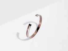 Load image into Gallery viewer, Linear Cuff Bracelet | Bronze