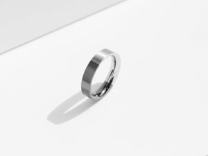 Brushed Two-Tone Ring | Grey