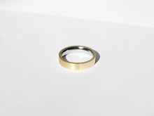 Load image into Gallery viewer, Dual Texture Ring | Gold