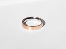 Dual Texture Ring | Rose Gold