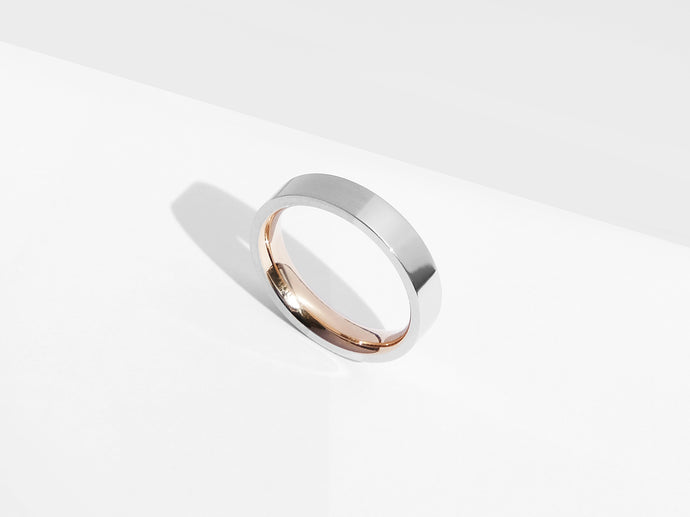 Dual Texture Ring | Silver