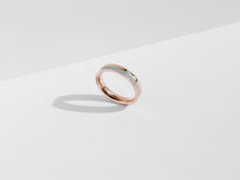 Load image into Gallery viewer, Fusion Ring | Rose Gold x Grey