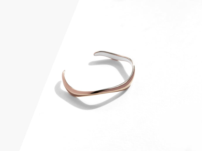【NEW】Flow Cuff Bracelet | Bronze
