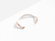 Load image into Gallery viewer, Flow Cuff Bracelet | Rose Gold