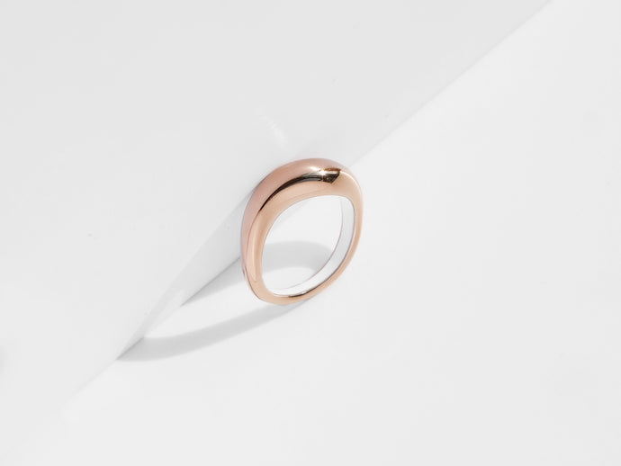 Flow Ring | Rose Gold