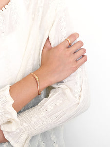 Flow Cuff Bracelet | Rose Gold