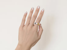 NEW! Brushed Two-Tone Ring | Gold