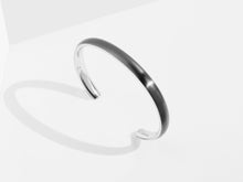 Load image into Gallery viewer, Bold Cuff Bracelet | Grey