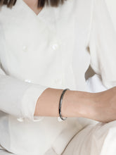 Load image into Gallery viewer, Petite Bold Cuff Bracelet | Grey