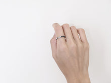Load image into Gallery viewer, Two-Tone Minimal Ring | Polished Grey