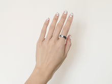 NEW! Brushed Two-Tone Ring | Grey