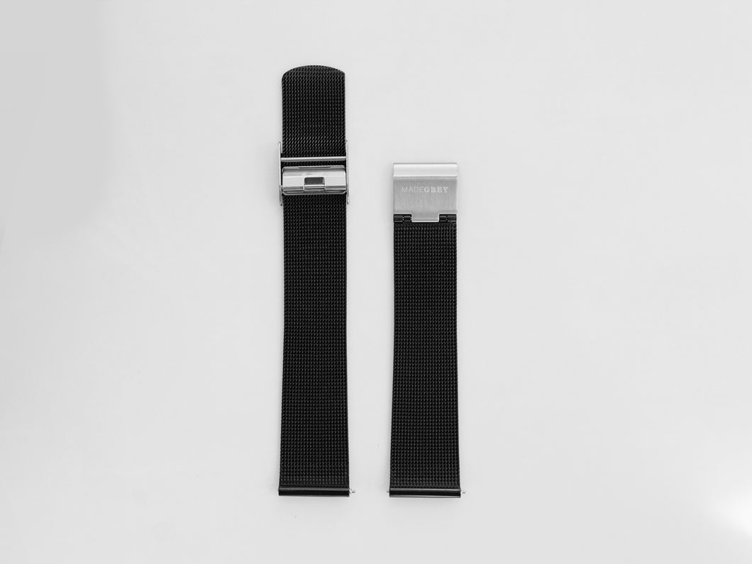 MG002 Mesh Watch Strap | Monochrome
