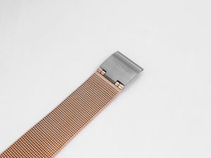 MG002 Mesh Watch Strap | Rose Gold x Grey