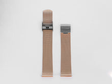 Load image into Gallery viewer, MG002 Mesh Watch Strap | Rose Gold x Grey