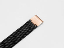 Load image into Gallery viewer, MG003 Max+ Mesh Watch Strap | Black x Rose Gold