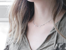 Mini Rectangles Necklace |  Silver