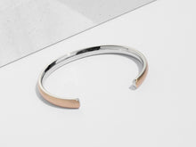 Load image into Gallery viewer, Bold Cuff Bracelet | Rose Gold