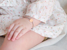 Load image into Gallery viewer, Baby Disc Bracelet | Rose Gold