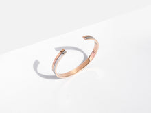 Load image into Gallery viewer, Linear Cuff Bracelet | Rose Gold