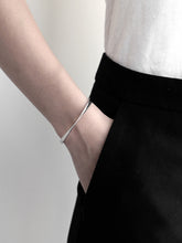 Load image into Gallery viewer, Twisted Cuff Bracelet | Silver
