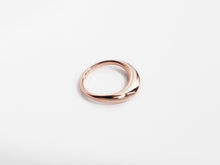 Load image into Gallery viewer, The Wave Ring | Rose Gold