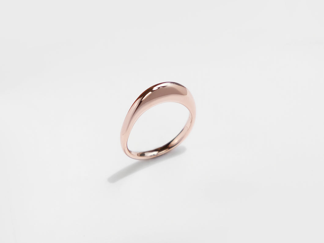 The Wave Ring | Rose Gold