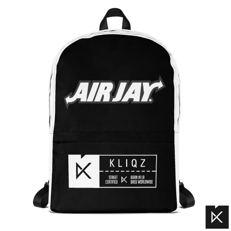 Backpack Airjay black and white