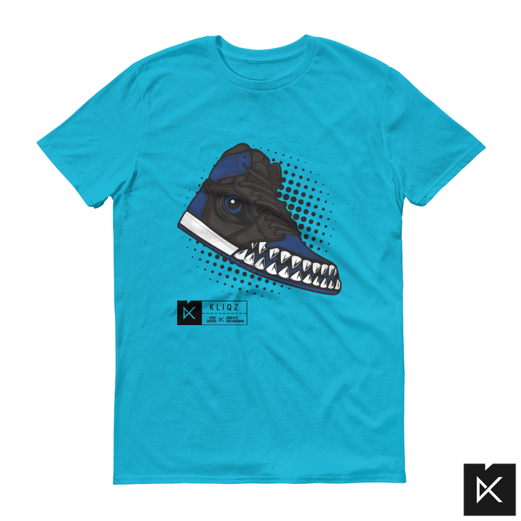 Jay 1 Monster Blue on Blue Tee