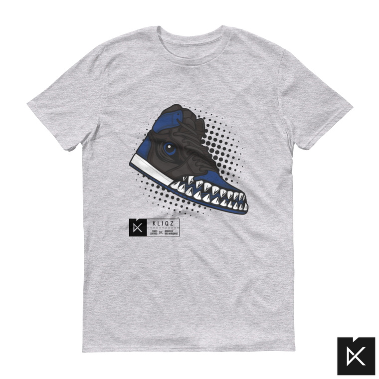 Jay 1 Monster Blue on Grey Tee
