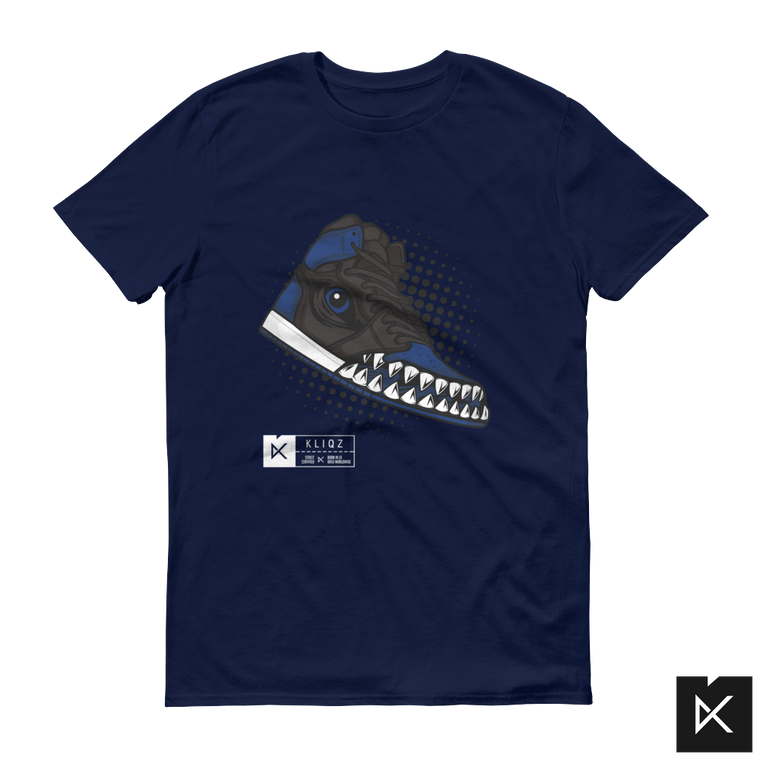 Jay 1 Monster Blue on Navy Tee