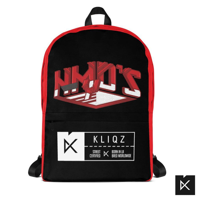 Kliqz My NMD's Back pack Red