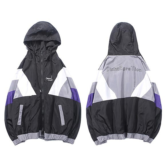 Color Block Windbreaker - Kliqz