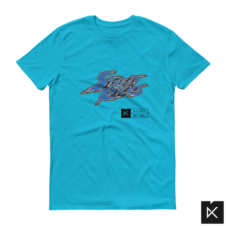 Street Kicks Blue on Blue Tee
