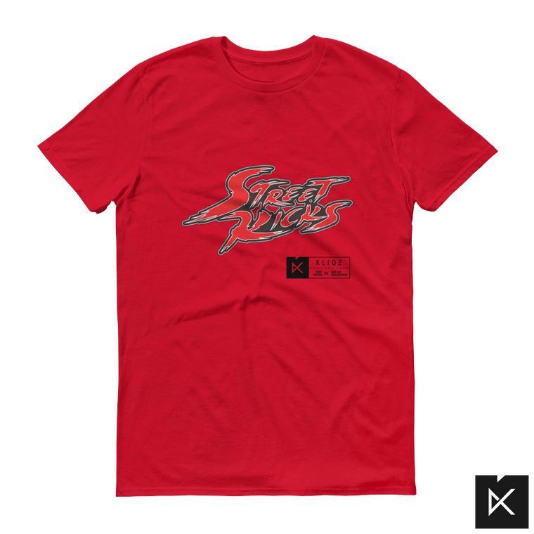 Street Kicks Red on Red Tee