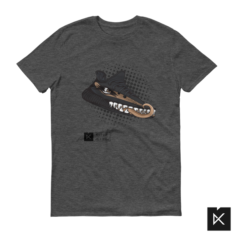 Yeez Monster Copper on Grey Tee