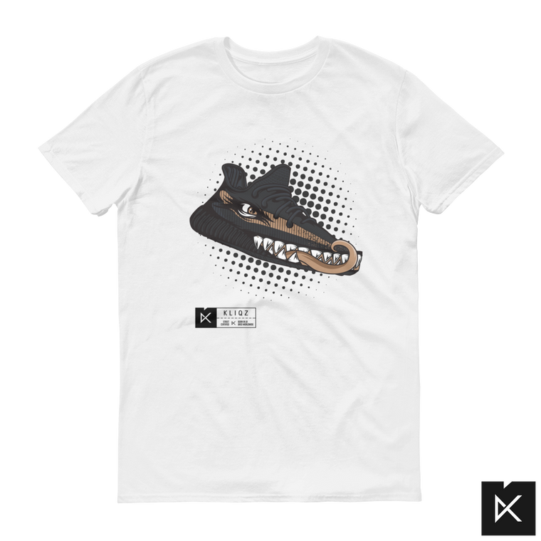 Yeez Monster Copper on White Tee