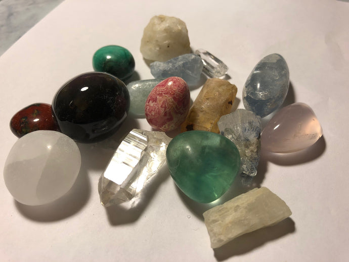 Crystal Sets for Personal Growth