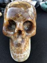 High Grade Crystal Calcite Skull